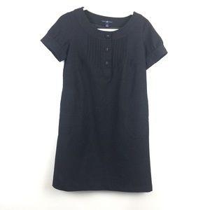 Gap Wool Blend Popover Shift Dress